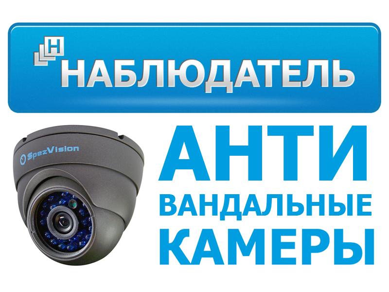 Антивандальные камеры видеонаблюдения - магазин Наблюдатель