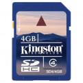Накопители информации Карта памяти SD SD, SD Card 4 Gb