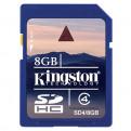 Накопители информации Карта памяти SD SD, SD Card 8 Gb