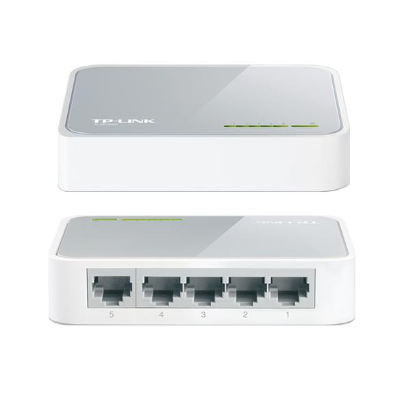 Сетевое оборудование Коммутаторы Ethernet 100 Base-TX TP-Link, TL-SF1005D