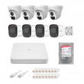 Комплекты Комплект видеонаблюдения IP Uniview, Комплект камер видеонаблюдения IP на 8 камер