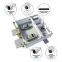 Комплекты Комплект видеонаблюдения Наблюдатель, Комплект камер видеонаблюдения для автомойки на 4 камеры