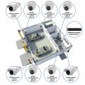 Комплекты Комплект видеонаблюдения Наблюдатель, Комплект камер видеонаблюдения для автомойки на 8 камер