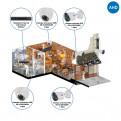 Комплекты Комплект видеонаблюдения AHD Наблюдатель, Комплект камер видеонаблюдения для кафе на 4 камеры AHD
