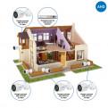 Комплекты Комплект видеонаблюдения для дома Наблюдатель, Комплект камер видеонаблюдения для дома на 4 камеры AHD