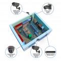 Комплекты Комплект видеонаблюдения Наблюдатель, Комплект камер видеонаблюдения для магазина на 4 камеры