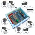 Комплекты Комплект видеонаблюдения Наблюдатель, Комплект камер видеонаблюдения для магазина на 8 камер