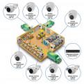 Комплекты Комплект видеонаблюдения Наблюдатель, Комплект камер видеонаблюдения для склада на 8 камер